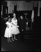 view Galbreath Church Queen, Jan[uary] 1963 [cellulose acetate photonegative] digital asset: Galbreath Church Queen, Jan[uary] 1963 [cellulose acetate photonegative].