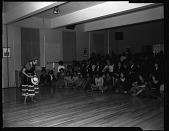 view Argentine Dancers at H[oward] U[niversity], Feb[ruary] 1963 [cellulose acetate photonegative] digital asset: Argentine Dancers at H[oward] U[niversity], Feb[ruary] 1963 [cellulose acetate photonegative].