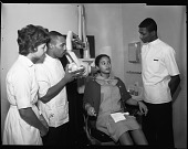 view Howard U[niversity] College of Dentistry Scenes, Feb[ruary] 1963 [cellulose acetate photonegative] digital asset: Howard U[niversity] College of Dentistry Scenes, Feb[ruary] 1963 [cellulose acetate photonegative].