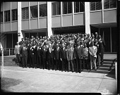 view C. I. A. A. Conference Group, March 1963 [cellulose acetate photonegative] digital asset: C. I. A. A. Conference Group, March 1963 [cellulose acetate photonegative].