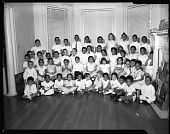 view Mrs. Howard's Nursery School, May 1960 [cellulose acetate photonegative] digital asset: Mrs. Howard's Nursery School, May 1960 [cellulose acetate photonegative].