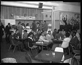 view H.U. [Howard University] Student Union bldg [building] shots, Feb[ruary] 1964 [cellulose acetate photonegative] digital asset: H.U. [Howard University] Student Union bldg [building] shots, Feb[ruary] 1964 [cellulose acetate photonegative].