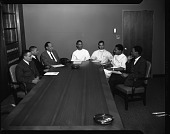 view H.U. [Howard University] Medical Student Council, April 1964 [cellulose acetate photonegative] digital asset: H.U. [Howard University] Medical Student Council, April 1964 [cellulose acetate photonegative].