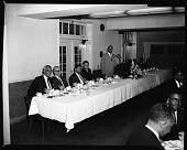 view College Business Mgrs' [Managers'] Conference dinner, May 1964 [cellulose acetate photonegative] digital asset: College Business Mgrs' [Managers'] Conference dinner, May 1964 [cellulose acetate photonegative].