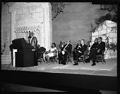 view H.U. [Howard University] Music Semi Centennial Program (Dean Lawson speaking), June 1964 [cellulose acetate photonegative] digital asset: H.U. [Howard University] Music Semi Centennial Program (Dean Lawson speaking), June 1964 [cellulose acetate photonegative].