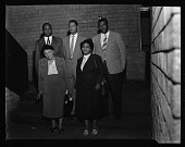view Nat'l Negro Business League Executive Committee March 13, 1957 [cellulose acetate photonegative] digital asset: Nat'l Negro Business League Executive Committee March 13, 1957 [cellulose acetate photonegative].