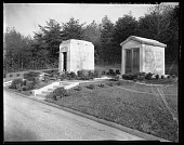 view Lincoln Memorial Cemetery 1940 [ink on negative] [cellulose acetate photonegative] digital asset: Lincoln Memorial Cemetery 1940 [ink on negative] [cellulose acetate photonegative].