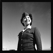view [African American woman in military uniform] [cellulose acetate photonegative] digital asset number 1