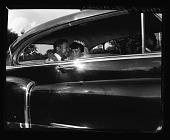 view Miss Gloria Smith (Wedding) Deluxe Wedding Album June 24/1956 [cellulose acetate photonegative] digital asset: Miss Gloria Smith (Wedding) Deluxe Wedding Album June 24/1956 [cellulose acetate photonegative].