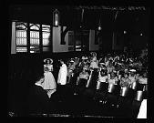view Miss Gloria Smith (Wedding) Deluxe Wedding Album June 24,1956 [cellulose acetate photonegative] digital asset: Miss Gloria Smith (Wedding) Deluxe Wedding Album June 24,1956 [cellulose acetate photonegative].