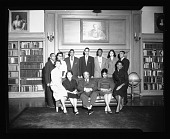 view Howard U. Bison Staff Phi Beta Kappa Inductees March 1955 [from enclosure] [black-and-white cellulose acetate photonegative] digital asset: Howard U. Bison Staff Phi Beta Kappa Inductees March 1955 [from enclosure] [black-and-white cellulose acetate photonegative].