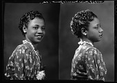 view Miss Mamie Gant [black-and-white cellulose acetate photonegative] digital asset: Miss Mamie Gant [black-and-white cellulose acetate photonegative].