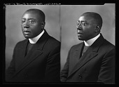 view Rev. Raymond Smith [black-and-white cellulose acetate photonegative] digital asset: Rev. Raymond Smith [black-and-white cellulose acetate photonegative].
