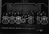 view Johnson's Capital Rhythm Girls [acetate film photonegative] digital asset: Johnson's Capital Rhythm Girls [acetate film photonegative], 1938.