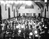 view Mortgage Burning, Florida Avenue Baptist Church (Washington, D.C.) [acetate film photonegative] digital asset: Mortgage Burning, Florida Avenue Baptist Church (Washington, D.C.) [acetate film photonegative], July 17, 1944.