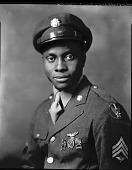 view Sgt. Eddie Gibson [#3 of 3] [photonegative] digital asset: Sgt. Eddie Gibson [#3 of 3] [photonegative, ca. 1940].