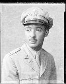 view First Lt. Melville Moman [vertical format : acetate film photonegative] digital asset: First Lt. Melville Moman [vertical format : acetate film photonegative, ca. 1942-1945].