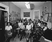 view Mr. Eubanks; Washington Jr. College of Music [3 of 5] [photonegative] digital asset: Mr. Eubanks; Washington Jr. College of Music [3 of 5] [photonegative, 1944].