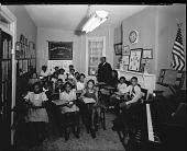 view Mr. Eubanks; Washington Jr. College of Music [#5 of 5] [photonegative] digital asset: Mr. Eubanks; Washington Jr. College of Music [#5 of 5] [photonegative, 1944].
