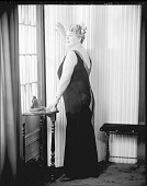 view Mrs. Sadee Mozsee [sic, Sadie Mozee] [#1 of 5] [photonegative] digital asset: Mrs. Sadee Mozsee [sic, Sadie Mozee] [#1 of 5] [photonegative, ca. 1940].
