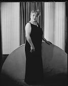 view Mrs. Sadee Mozsee [sic, Sadie Mozee] [#2 of 5] [photonegative] digital asset: Mrs. Sadee Mozsee [sic, Sadie Mozee] [#2 of 5] [photonegative, ca. 1940].