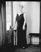 view Mrs. Sadee Mozsee [sic, Sadie Mozee] [#5 of 5] [photonegative] digital asset: Mrs. Sadee Mozsee [sic, Sadie Mozee] [#5 of 5] [photonegative, ca. 1940].
