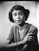 view Miss Robbie J. Carroll [photonegative] digital asset: Miss Robbie J. Carroll [photonegative, ca. 1940].