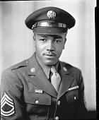 view Sgt. Willie [?] Stark [vertical format : acetate film photonegative] digital asset: Sgt. Willie [?] Stark [vertical format : acetate film photonegative, ca. 1942-1945].
