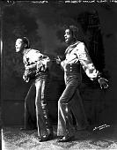 view Robert Murray Theatrical Group [acetate film photonegative] digital asset: Robert Murray Theatrical Group [acetate film photonegative, ca. 1930-1940].