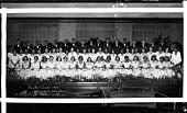 view Mid year class, Dunbar High School [acetate film photonegative] digital asset: Mid year class, Dunbar High School [acetate film photonegative, ca. 1932].