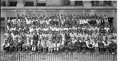 view Graduating class of 1936 / Shaw Junior High School, Wash. D.C. [group in front of school] [acetate film photonegative,] digital asset: Graduating class of 1936 / Shaw Junior High School, Wash. D.C. [group in front of school] [acetate film photonegative,] 1936.