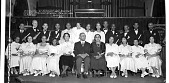 view Graduates of Vermont Ave. Baptist Church training school [group in church in front of organ, acetate film photonegative :] digital asset: Graduates of Vermont Ave. Baptist Church training school [group in church in front of organ, acetate film photonegative :] Feb. 21, 1936.