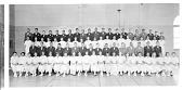 view [Garnett Patterson High School February Graduates. Group in gym : panoramic acetate film photonegative,] digital asset: [Garnett Patterson High School February Graduates. Group in gym : panoramic acetate film photonegative,] 1935.