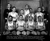 view [St. Paul's] Track Team [acetate film photonegative] digital asset: [St. Paul's] Track Team [acetate film photonegative], 1941.