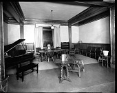 view [Y.M.C.A. sitting room with piano : acetate film photonegative,] digital asset: [Y.M.C.A. sitting room with piano : acetate film photonegative,] 1933.