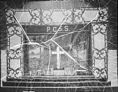 view Plymouth Church Sunday School play set [acetate film photonegative] digital asset: Plymouth Church Sunday School play set [acetate film photonegative, ca. 1930].