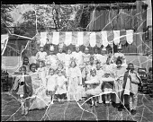 view Monroe School, May Day play [acetate film photonegative] digital asset: Monroe School, May Day play [acetate film photonegative], 1934.