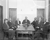 view Odd Fellows Board of Directors [acetate film photonegative, ca. 1930] digital asset number 1