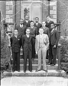 view Dental freshman class, Howard University [acetate film photonegative], 1934 digital asset number 1