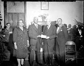 view Mr. A. B. Pinkett, Odd Fellows group [acetate film photonegative], 1946 digital asset number 1