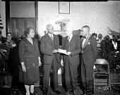 view Mr. A.B. Pinkett, Odd Fellows group [acetate film photonegative], 1946 digital asset number 1