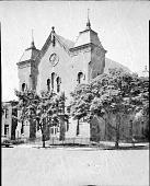 view 19th Street Baptist Church [acetate film photonegative,] digital asset: 19th Street Baptist Church [acetate film photonegative,] 1948.