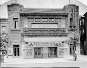 view Lichtman Theater [front, exterior of Booker T Theatre] [acetate film photonegative] digital asset: Lichtman Theater [front, exterior of Booker T Theatre] [acetate film photonegative, ca. 1940].
