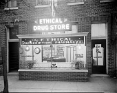 view Dr. Terry, Ethical [Prescription] Pharmacy [acetate film photonegative,] 1937 digital asset number 1