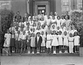 view Mrs. B. Butcher's Class, Lovejoy School [acetate film photonegative,] digital asset: Mrs. B. Butcher's Class, Lovejoy School [acetate film photonegative,] 1938.