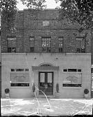 view Barnes and Matthews Funeral Home [acetate film photonegative] digital asset: Barnes and Matthews Funeral Home [acetate film photonegative], 1938.