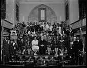 view Reverend E. Hopkins Church Committee [acetate film photonegative] digital asset: Reverend E. Hopkins Church Committee [acetate film photonegative, ca. 1940].