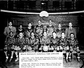 view Howard University basketball team [acetate film photonegative] digital asset: Howard University basketball team [acetate film photonegative], 1944.