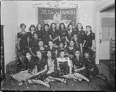 view Alpha Kappa Alpha sorority (Howard University?) [acetate film photonegative,] digital asset: Alpha Kappa Alpha sorority (Howard University?) [acetate film photonegative,] 1944.