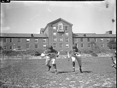 view Howard University football team [acetate film photonegative,] digital asset: Howard University football team [acetate film photonegative,] 1948.